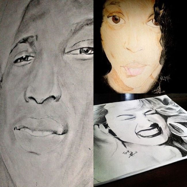 The top three of my all time favourite portraits Awesomeness Nawden  Artcollage Instagram_artists portraitscolor