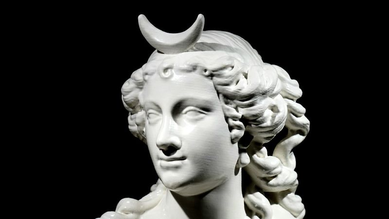 EyeEm Selects Statue Sculpture Black Background Close-up Adult Ciao Only Women Torino Venaria Reale