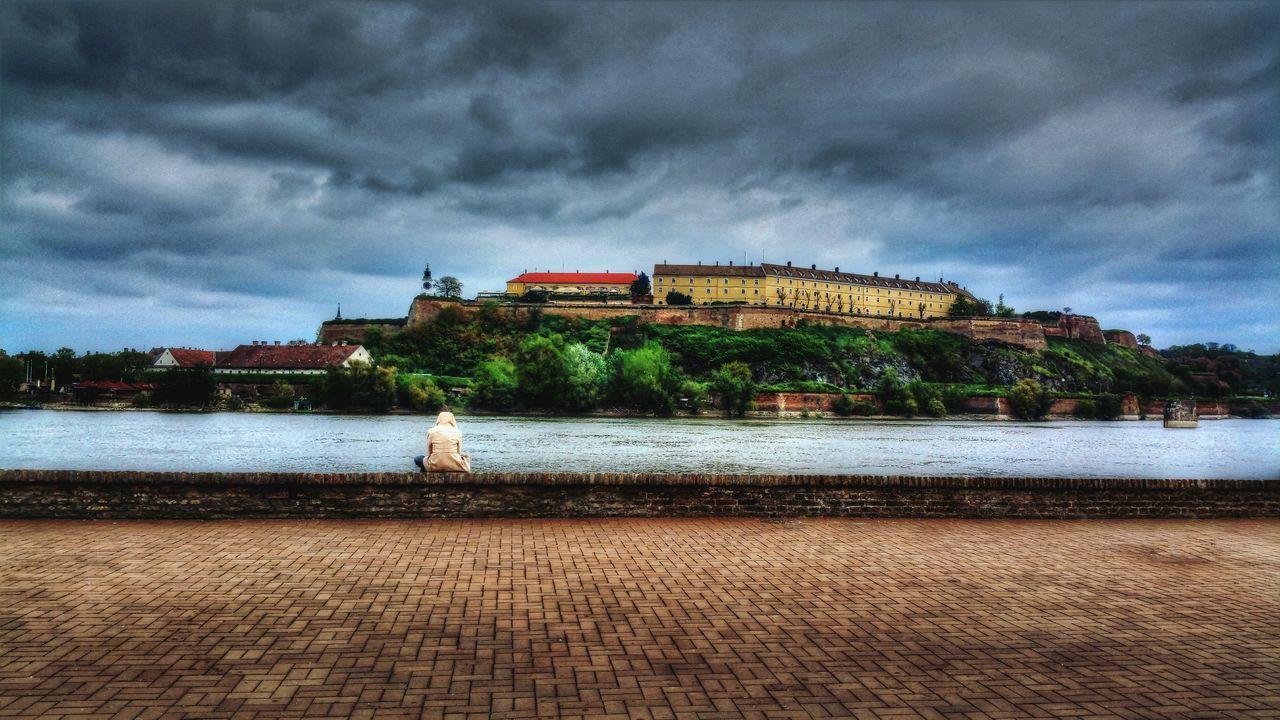 Serbia Novi Sad Petrovaradinfortress Danube Quite Moments Solitude Loneliness HDR Sunday