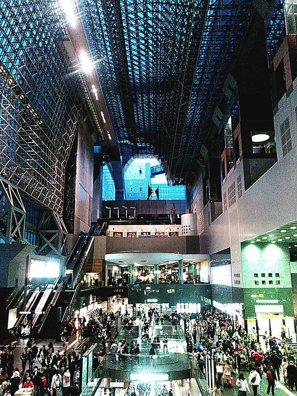 京都駅、喧騒と雑踏と。 京都 Kyoto 京都駅 京都駅ビル 京都駅 Kyoto Station Kyoto Station 駅 Station Urban