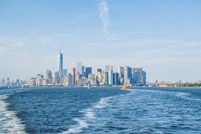 City Lines Nikon Landscapes Landscape_photography Sea And Sky City Horizon Colors