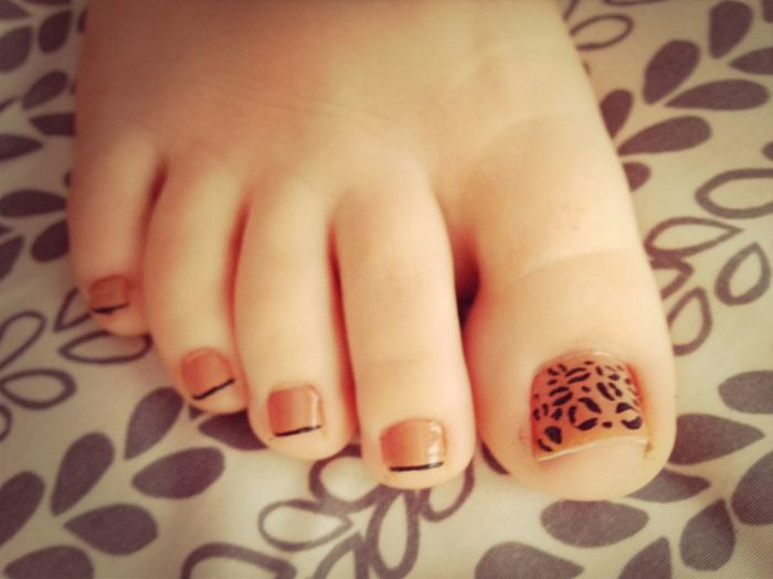 Painted My Toes (: