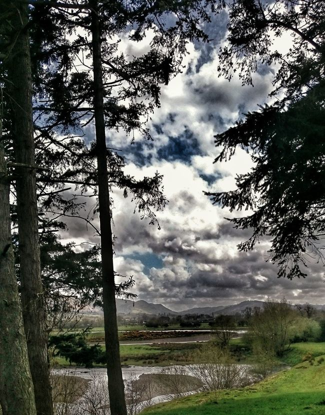 Riverside Landscape Nature Photography [a:6106331] River Severn Wales You Beauty Wales❤ Valley View Powys Clouds And Sky The Great Outdoors With Adobe