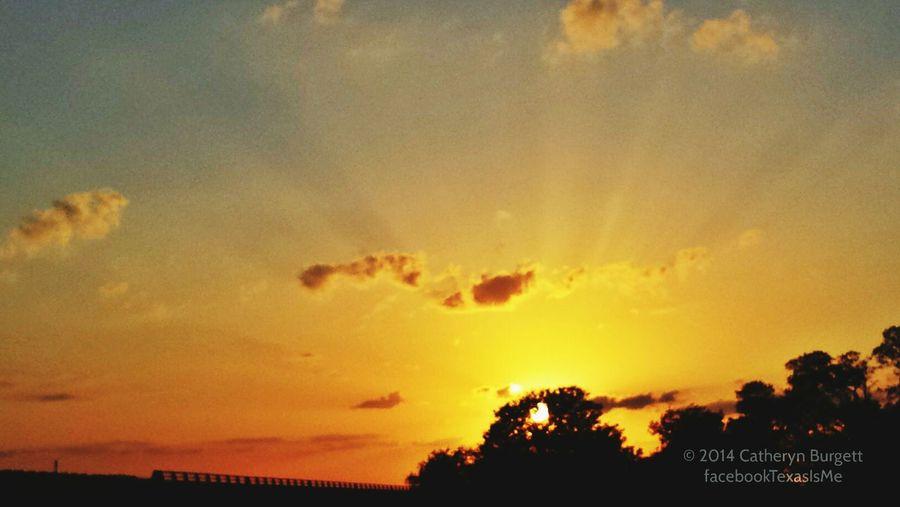 Sunset Rays Sunsetporn Sunrays Sky Collection Texas Skies