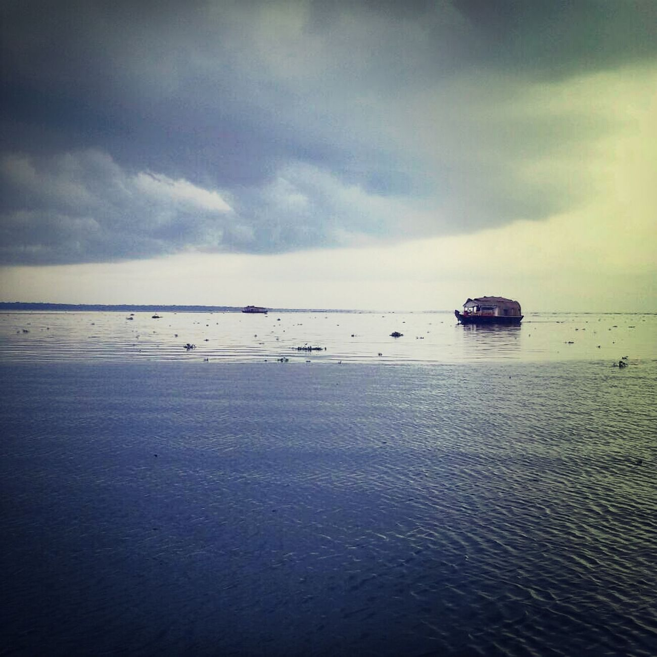 Sky House Boat Alapphuza Kerala First Eyeem Photo