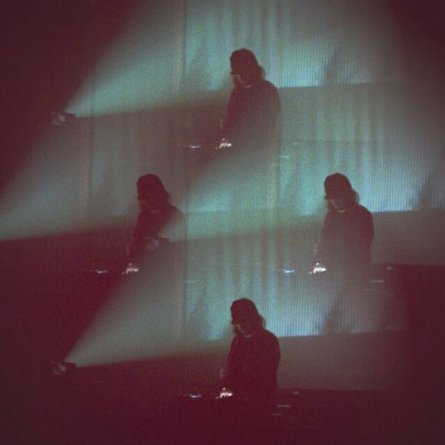 Alessandro Cortini live at the fox cabaret Concert Electronic Synth Live Nin Nine Inch Nails