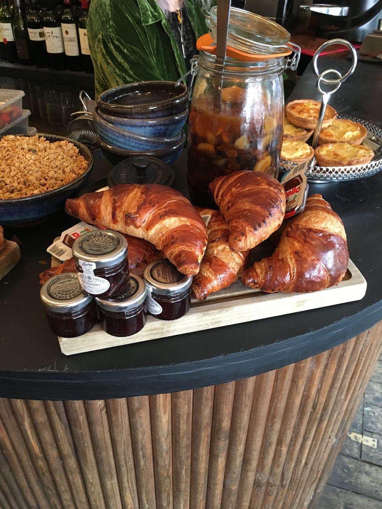 My World Of Food Croissants & Jam Manchester Volta