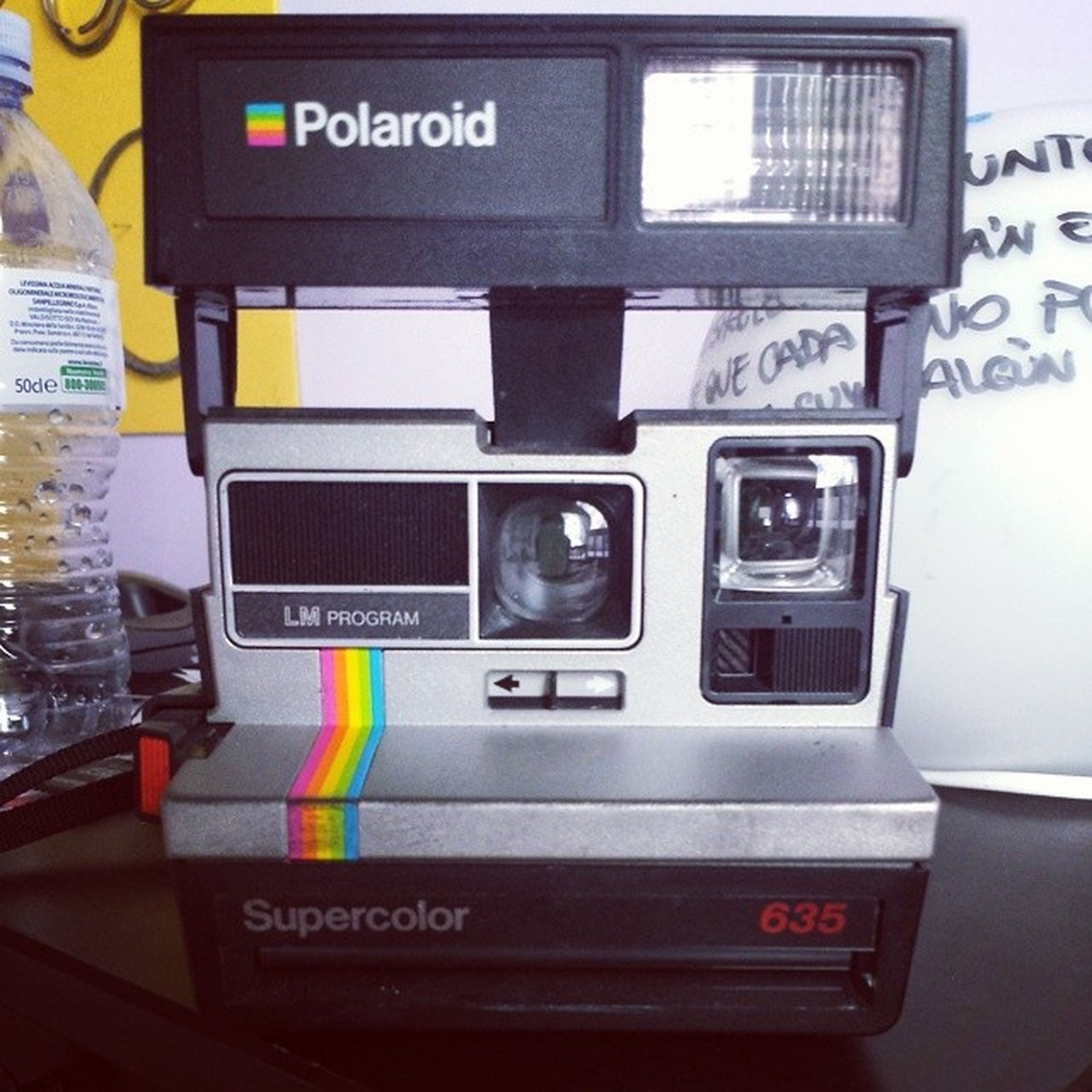 Nacifravintageao Nice Manoneunamacchinetta ! Polaroid