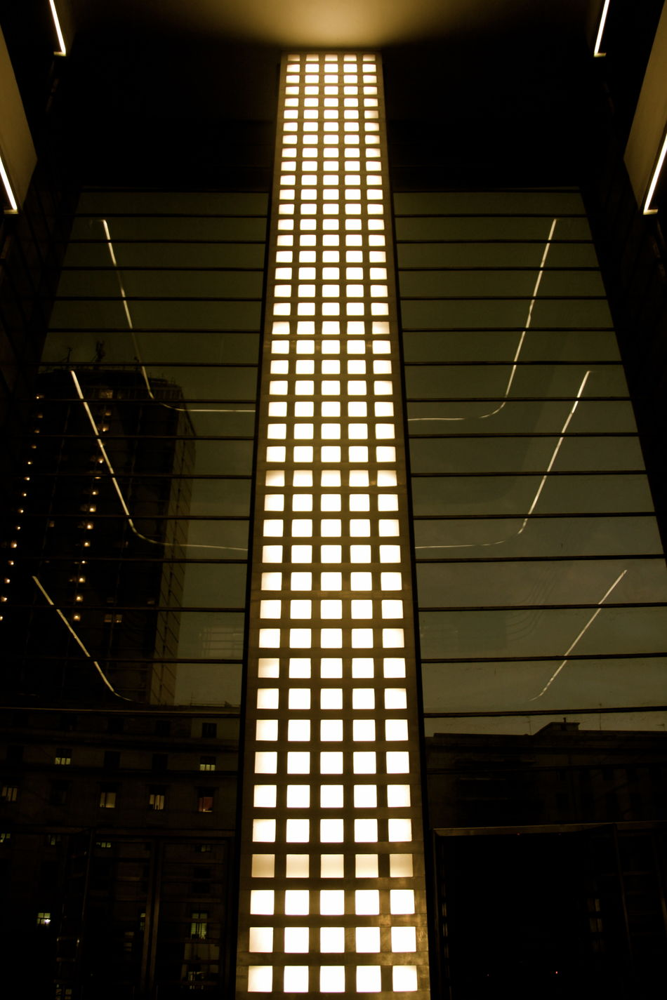 Architectural Detail Architecture Architecture Architecture_collection Fascistarchitecture Illuminated Indoors  Light Monochrome Monochrome Photography No People Post Office Rationalism Razionalismo Ventennio