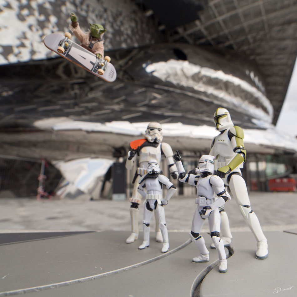 Museumweek InspirationMW Family FamilyMW Starwars Ho regarde maman !?