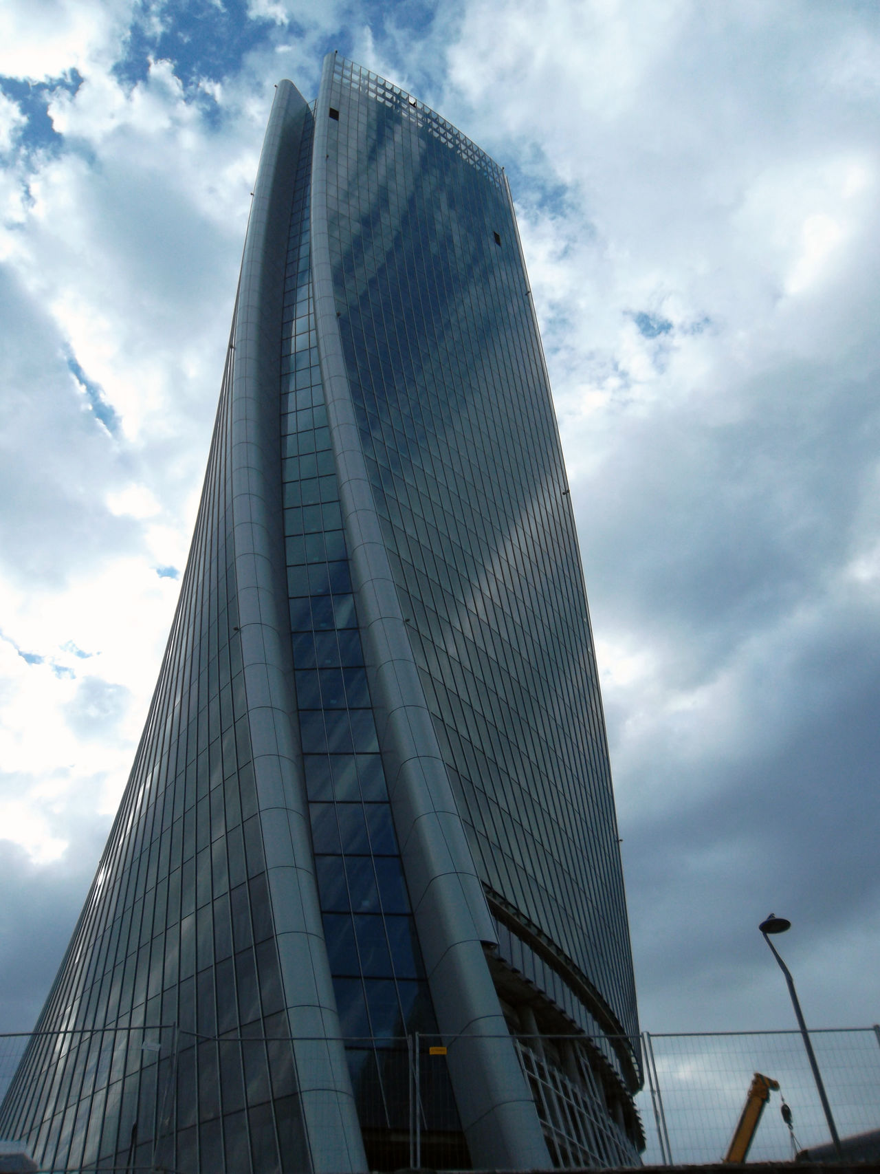 Architecture Building Exterior Built Structure City Cloud - Sky Day Glass Hadid Tower Low Angle View Modern No People Outdoors Reflection Sky Skyscraper Steel Tower Travel Destinations Zaha Hadid