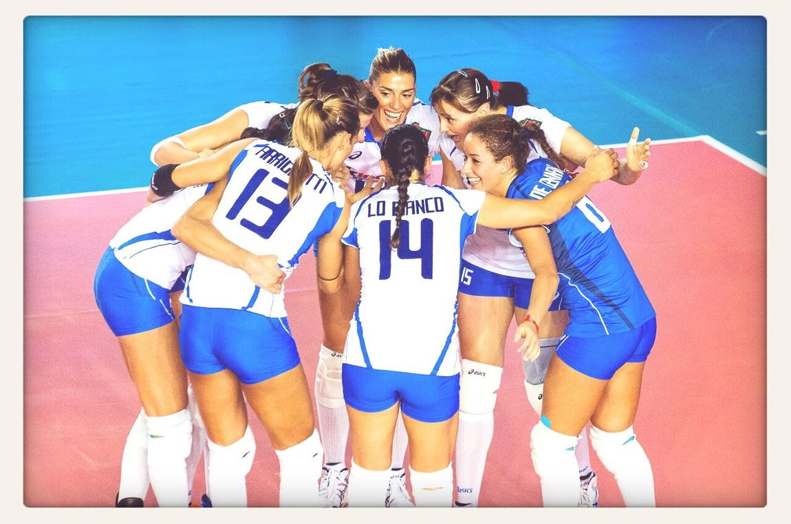 waiting to see you Girls!! FIVBWomensWCH Italy2014 Volleyball Italrosa ♥