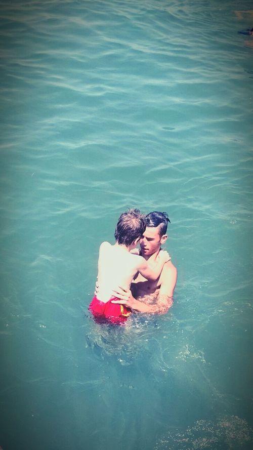Yalova Ciftlikkoy Mybros Bro Brother Brothers Swimming Swim Oldies Old