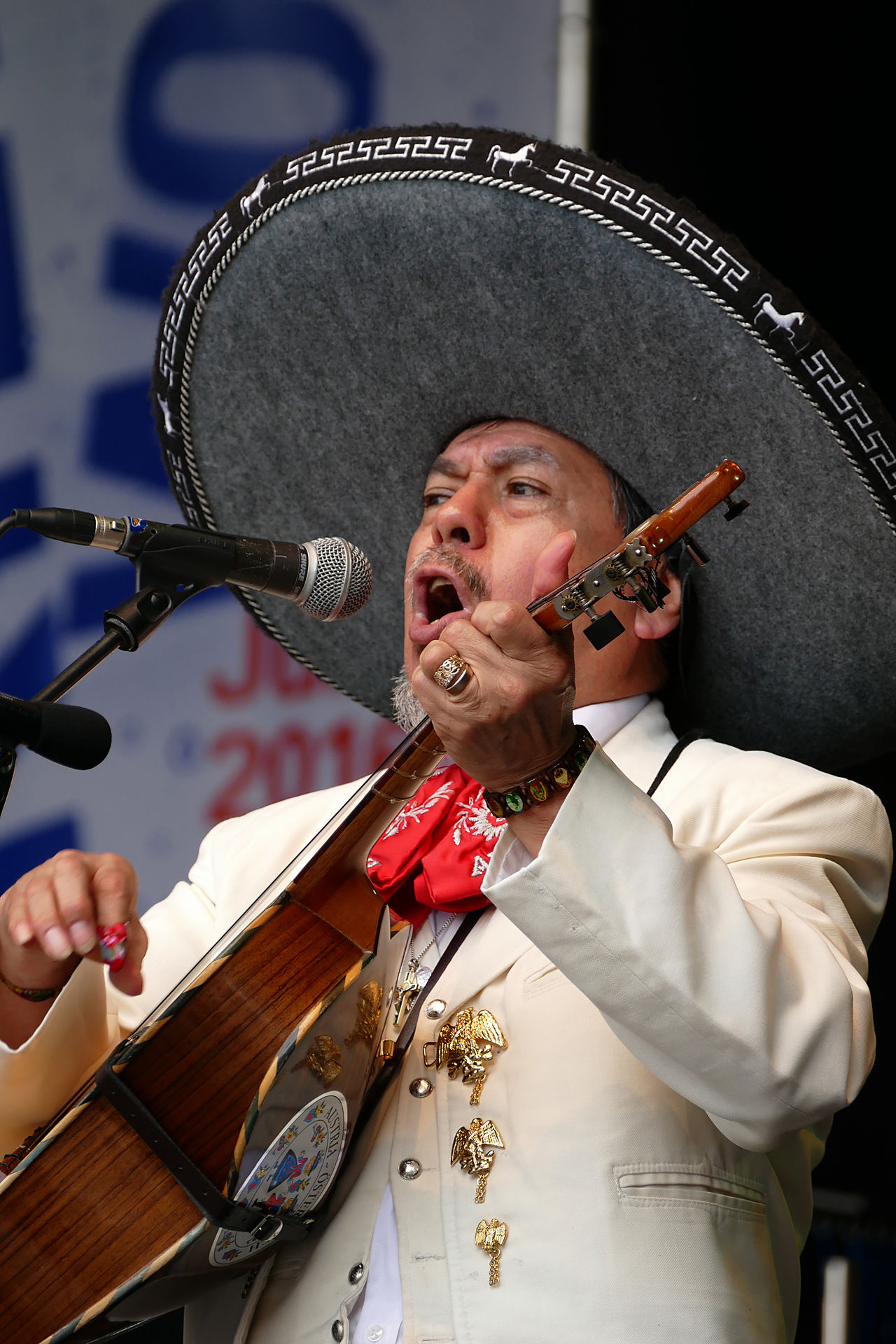 Feier Festival Front View Kielerwoche Mexican Music Person Songs Summer