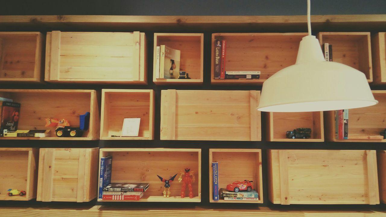 Books Toys Light Bookshelf Toyshelf Learn Play Lamp Eyeem Philippines EyeEm Gallery Restaurant Interior Design Cool