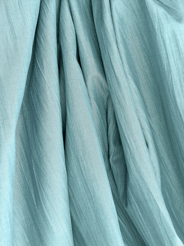 Aqua fabric background Aqua ArchiTexture Backgrounds Close-up Crease Crumpled Cyan Day Fabric Fold Full Frame No People Studio Shot Textile Textured  Textures And Surfaces Wave Winkle
