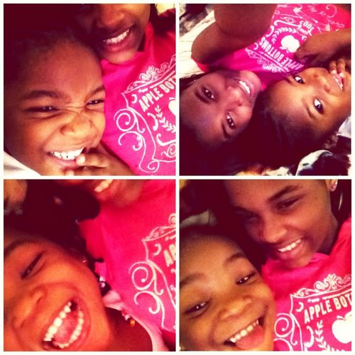 Me And Sissy Acting A Fool