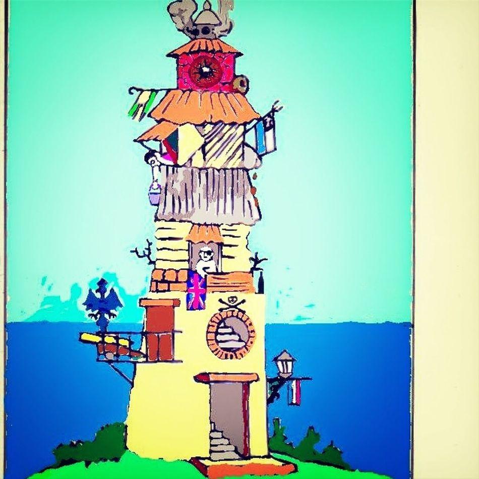 La Torre de los artistas que está en un páramo de la gran ciudad 300 Game
