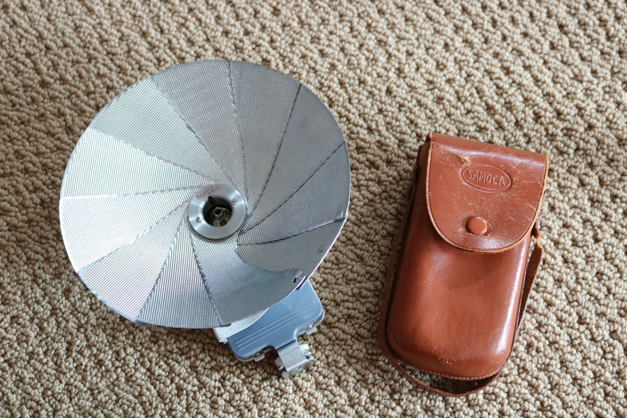 Samoca Flash Samoca Flash Vintage No People High Angle View Close-up Old Camera Gear Camera - Photographic Equipment Camera Lieblingsteil