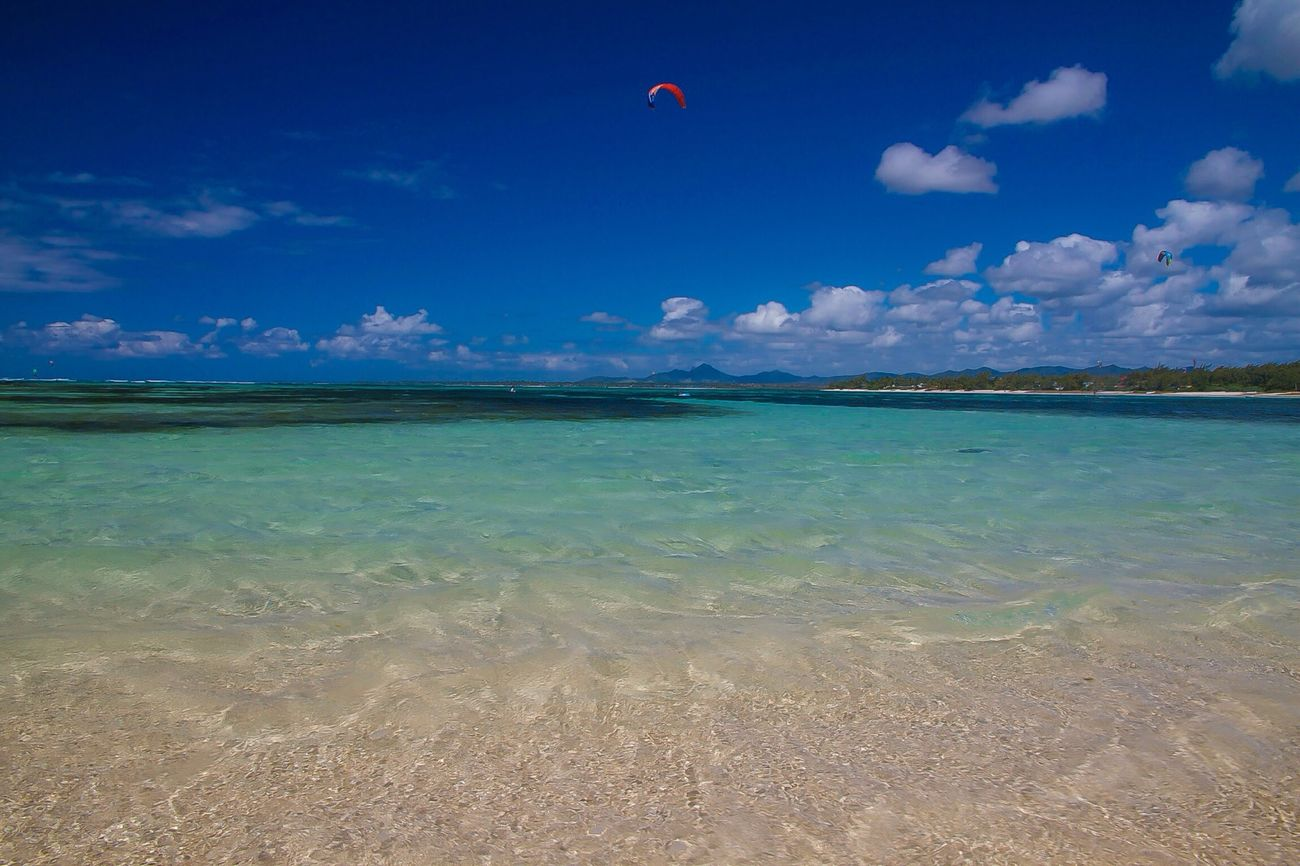 Relaxing Travelling Beachphotography Mauritius