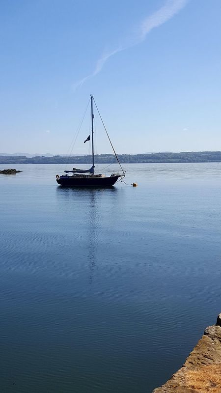 Tranquility Beauty In Nature Water Sea Scenics Outdoors Nature Tranquil Scene Nautical Vessel