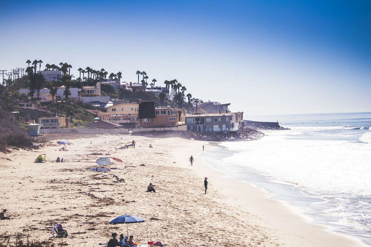 California life Beach Blue Sky California Clear Sky Live For The Story Ocean Sand Vacations Water
