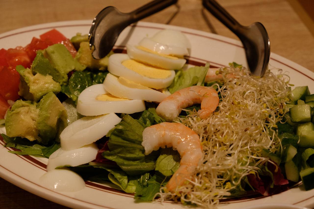 コブサラダ/Salad Close-up Eggsnthings Food Food And Drink Freshness Healthy Eating Japan Japan Photography Meal Plate Ready-to-eat Salad Shopping Vegetable ららぽーと ららぽーと東京ベイ エッグスンシングス コブサラダ