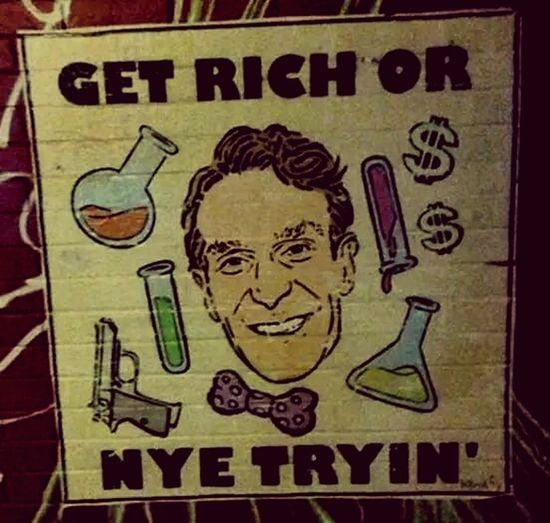 Bill Nye the Science Guy! Billnyethescienceguy Hello Peoplee ❤❤ Enjoying Life Tulsa,oklahoma Science NYE2015 Thuggin Thug Life Cheese! Watching Bill Nye