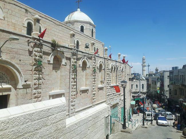 Bethlehem Beyt Jala Beyt Jalla Palestine Souk Souks Nativity Church Nativity Of Christ Cathedral