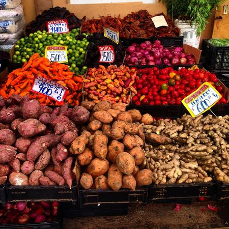 Abundance Arrangement Choice Collection Food For Sale Freshness Healthy Eating Heap Large Group Of Objects Limes Market Market Stall No People Potato Retail  Small Business Variation