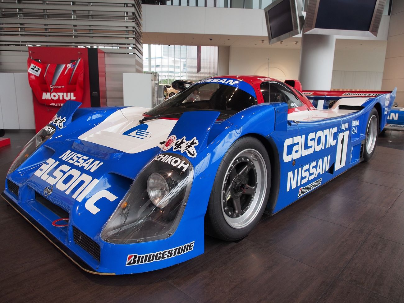 NISSAN R92CP ♯1 CALSONIC NISMO 30th Anniversary Racing Car Old Car Sexy Car