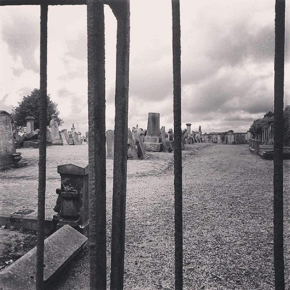 Graveyard Iron Gates Past Life Marble Headstones Glenmavis Airdrie Cemetery Ghostly Black And White Bw Peaceful Resting Place Remembered Different Perspective Monochrome
