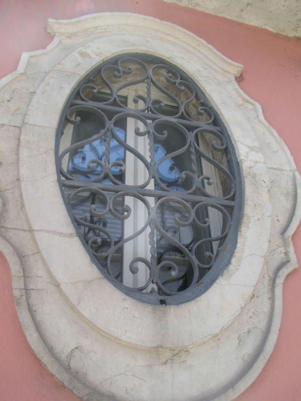 Architecture Beautiful Window Close-up Closed Window  Day Detail From Lisbon Heart-like Ornaments Iron Ornaments Lisbon Window No People Old Architecture Old Beautiful Window Old Beauty Old Building  Old Style Old Window Old-fashioned Ornamented Window Outdoors Oval Window Pink Building Reflection Symetry Window Window Frame