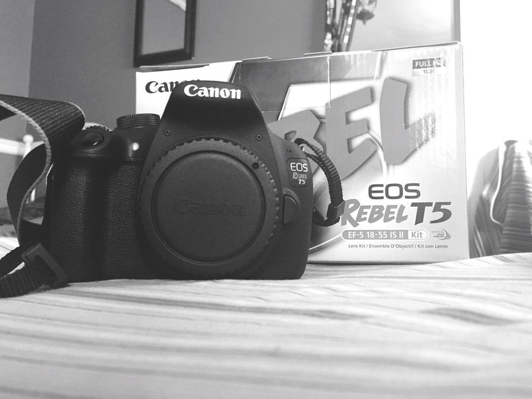 Finally Home My Baby First Camera Newbie I'm So Happy! Happiness Camera Cannon