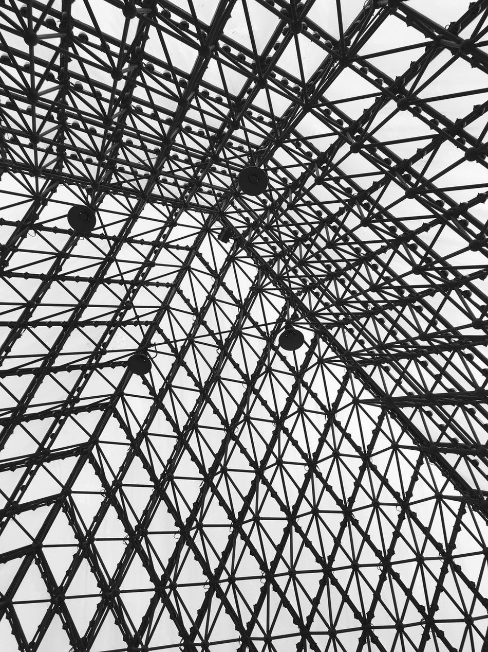 Modern Architecture at Window of the World Pyramid in Shenzhen - China Window Of The World  Architecture Building Interior Chinese Architecture Monochrome Architectural Detail Architectural Modern Architecture Pyramid Pyramids Lattice Pattern Black And White Pattern Inside Shenzhen Chinese Abstract China