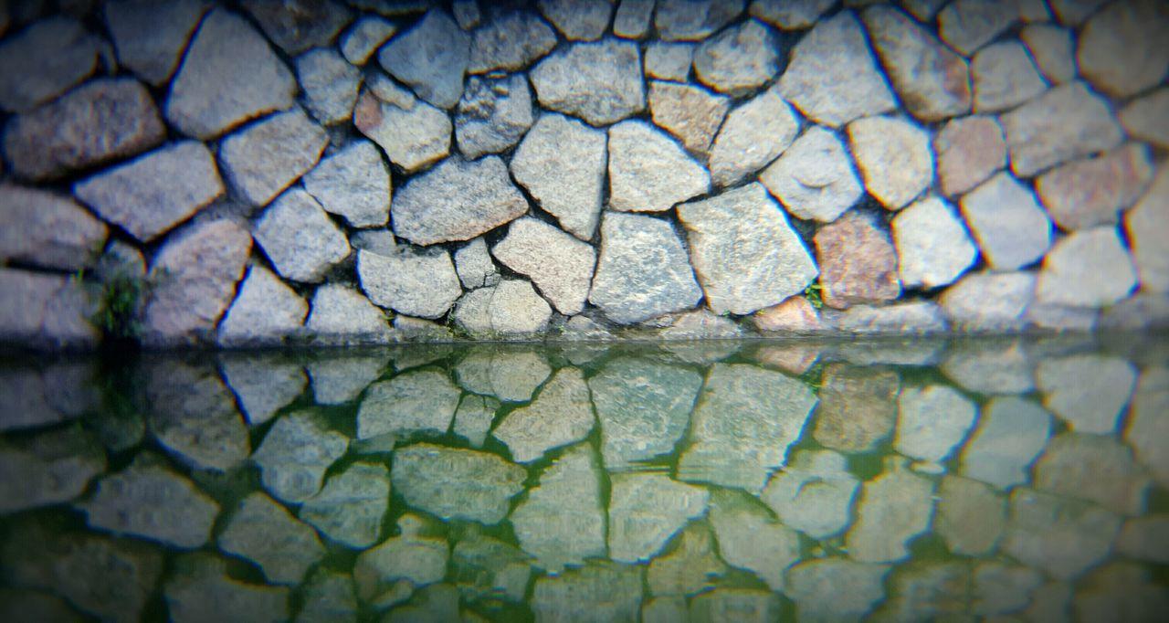 Reflection Wall Reflection Water Stone Beautiful Image