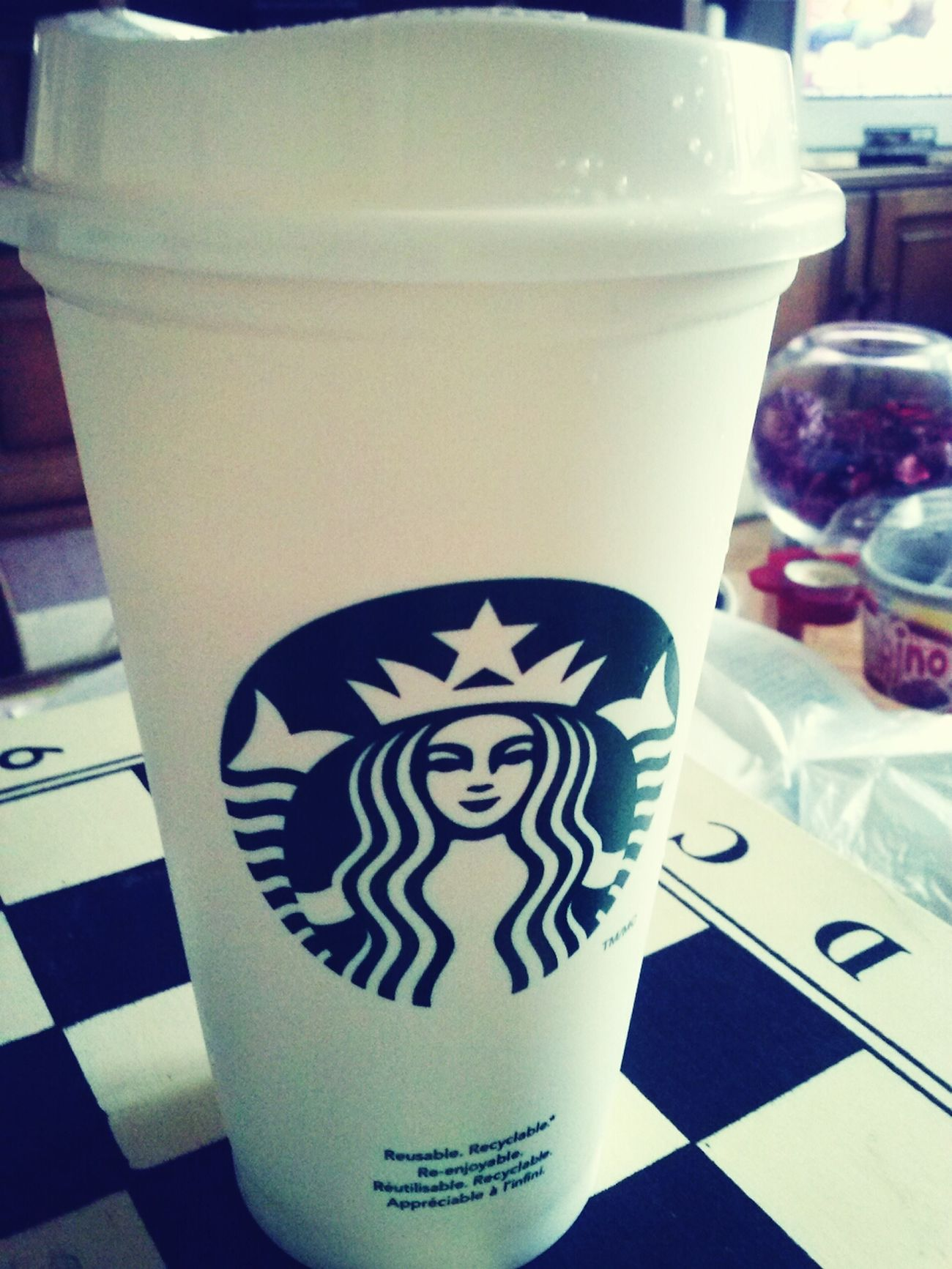 Starbucks ♥ Drinking Starbucks Starbucks