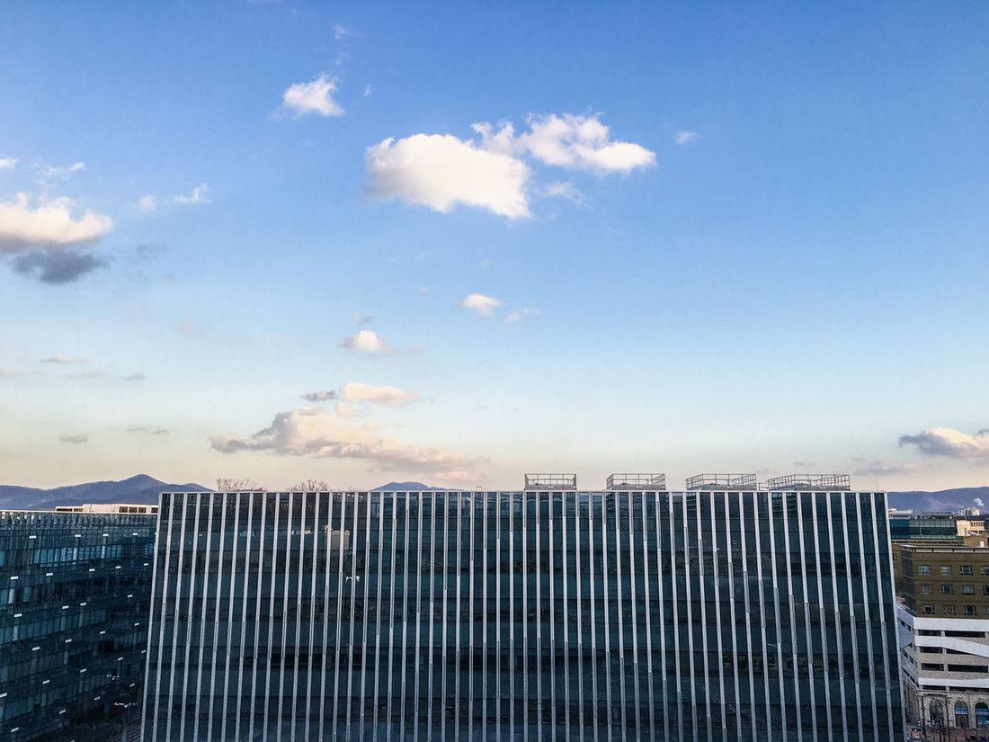 Pangyo Blue Sky Clouds And Sky