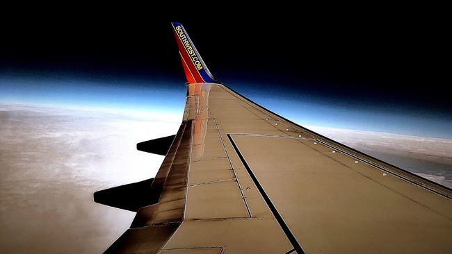 Flying High Above The Earth Wing SOAR HIGH Soarhigh Soar Travel Travelling Jetting Airborne Air Showcase: January