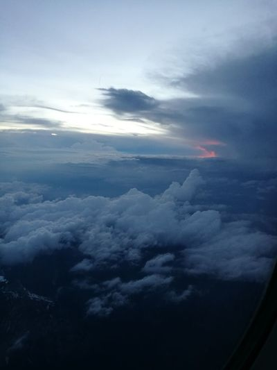 Flying Travel Cloud - Sky Airplane Nature Sky