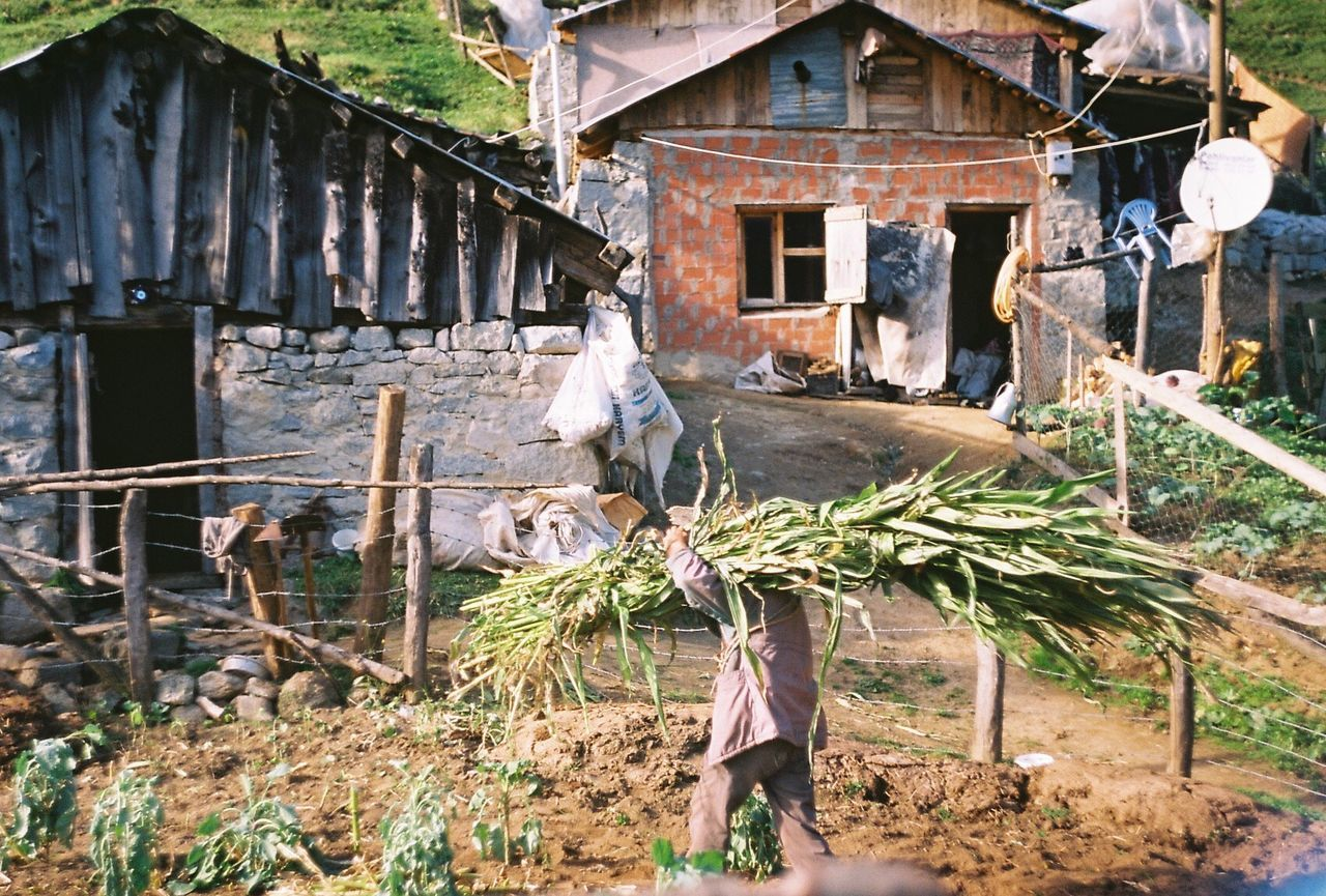 The Photojournalist - 2017 EyeEm Awards Built Structure Wood - Material Day Outdoors Architecture Building Exterior Adult Rural Scene People One Person One Man Only Only Men Elderly Elder Valley Village