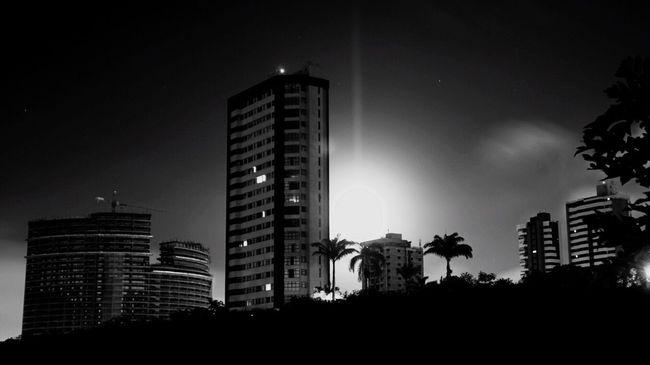 B&W Night B&w Nightphotography Paraíba Night Lights Night Photography Night View Campina Grande Cities At Night The Architect - 2016 EyeEm Awards