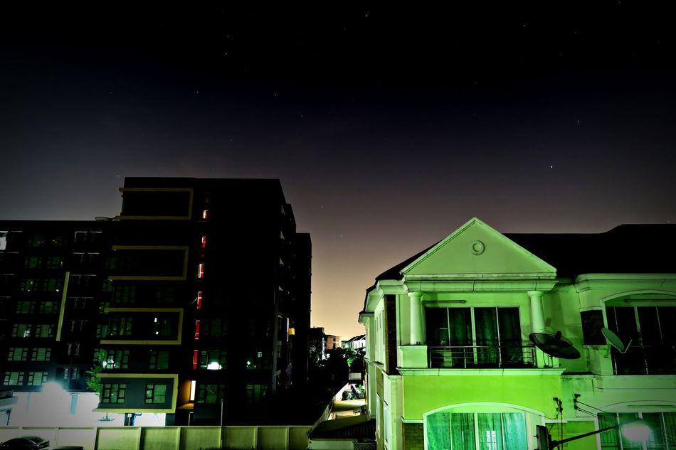 star@my home G7x Long Exposure My House Night Sky Photoscape Shutter Speed Star Test