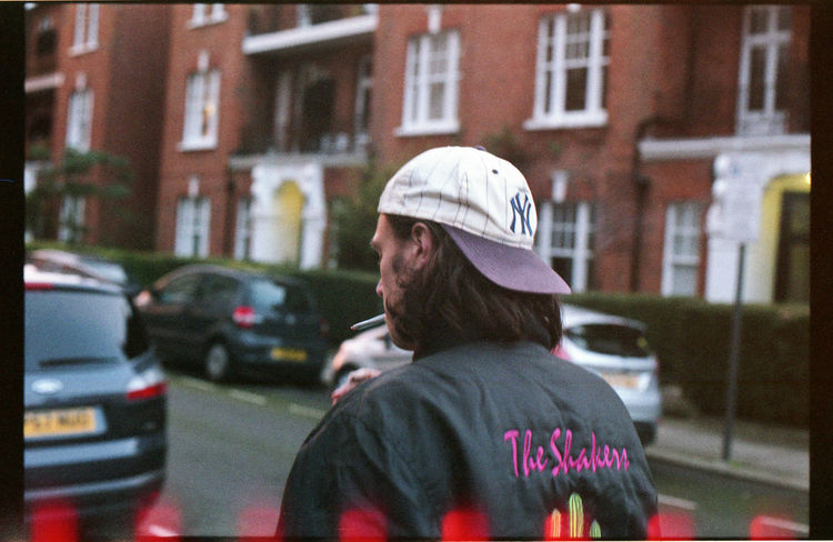 Matthew C. Wright from The Shakers p.1 50mm 1.4 Afternoon Band Depth Of Field EyeEm Best Shots Film Filmisnotdead Golden Hour Hanging Out Hat Jacket London Music Nikkormat FS (1965) Smoking Tadaa Community Urban Urban Lifestyle Walk Walking Around