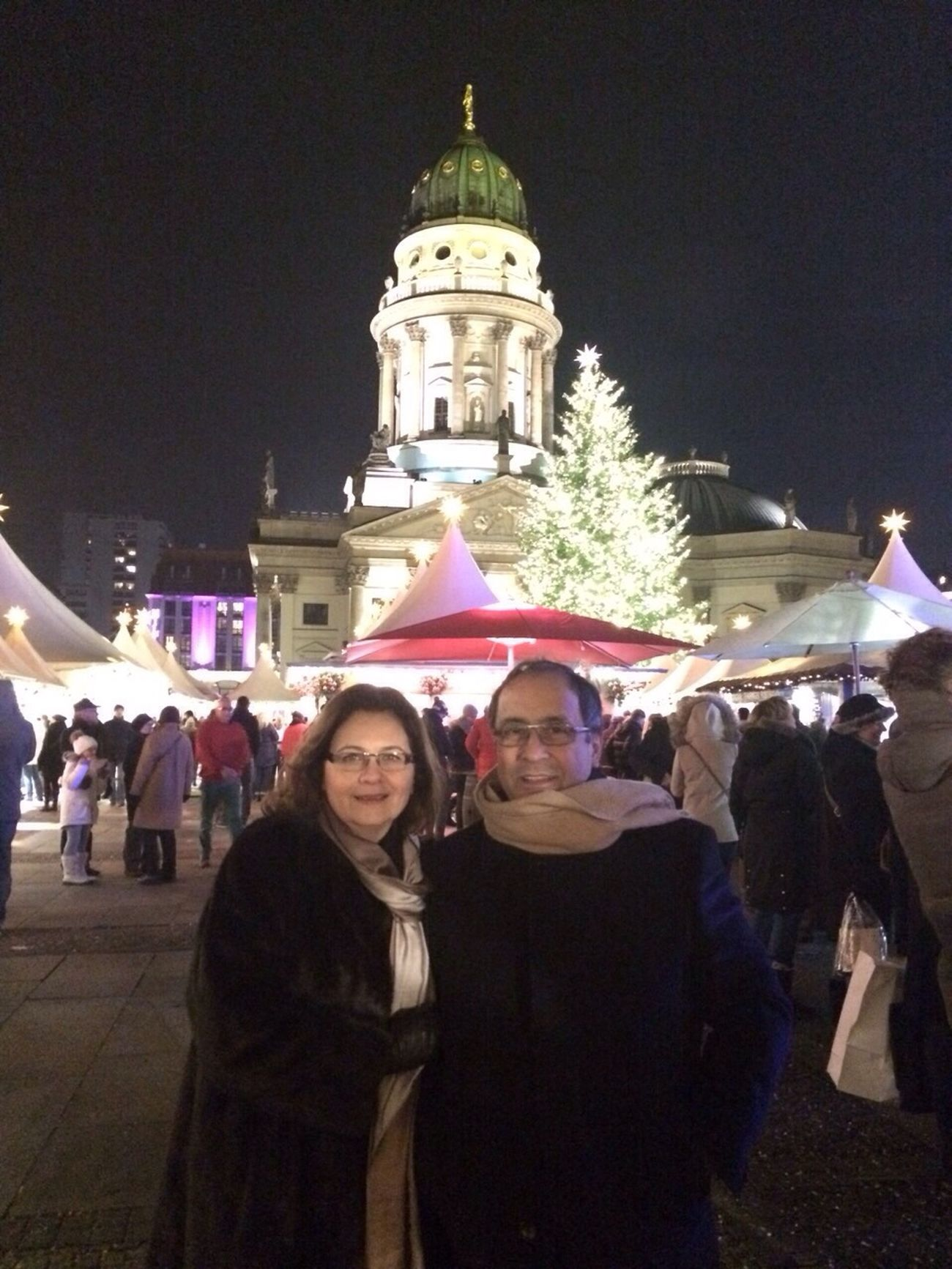 At Gendarmenmarkt Christmas Markt