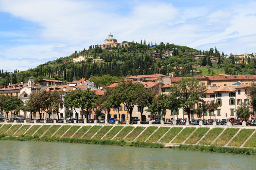 Verona historic center cityscape Architecture Arena Building Exterior Built Structure Church City Cloud Cloud - Sky Coluseum Day Green Color Growth House In Front Of Italy Outdoors Place Of Worship Residential District Romeo And Juliet Sky Town Tree Verona Water Waterfront