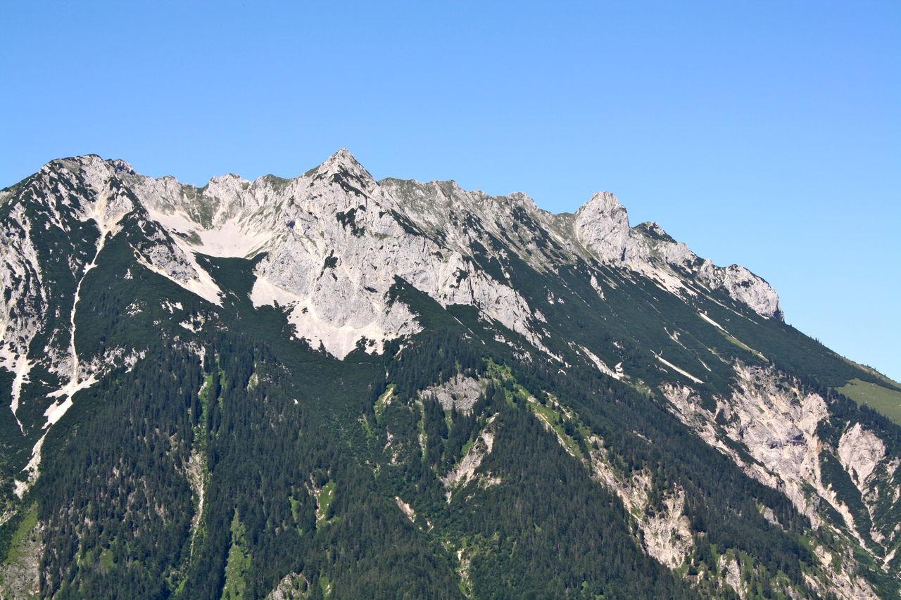 Beautiful stock photos of mountains, Blue Sky, Coniferous, Fir, Forest
