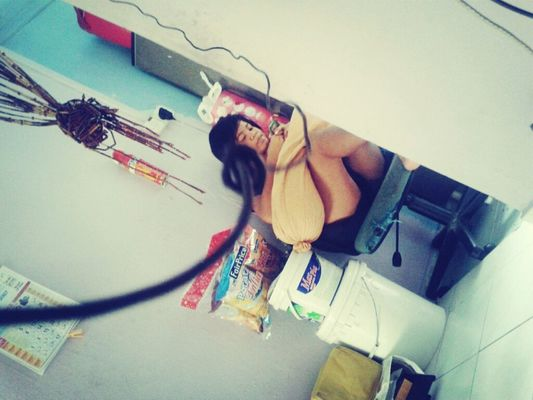 Taking Photos at Living Room :D by Nurul Shafiqah