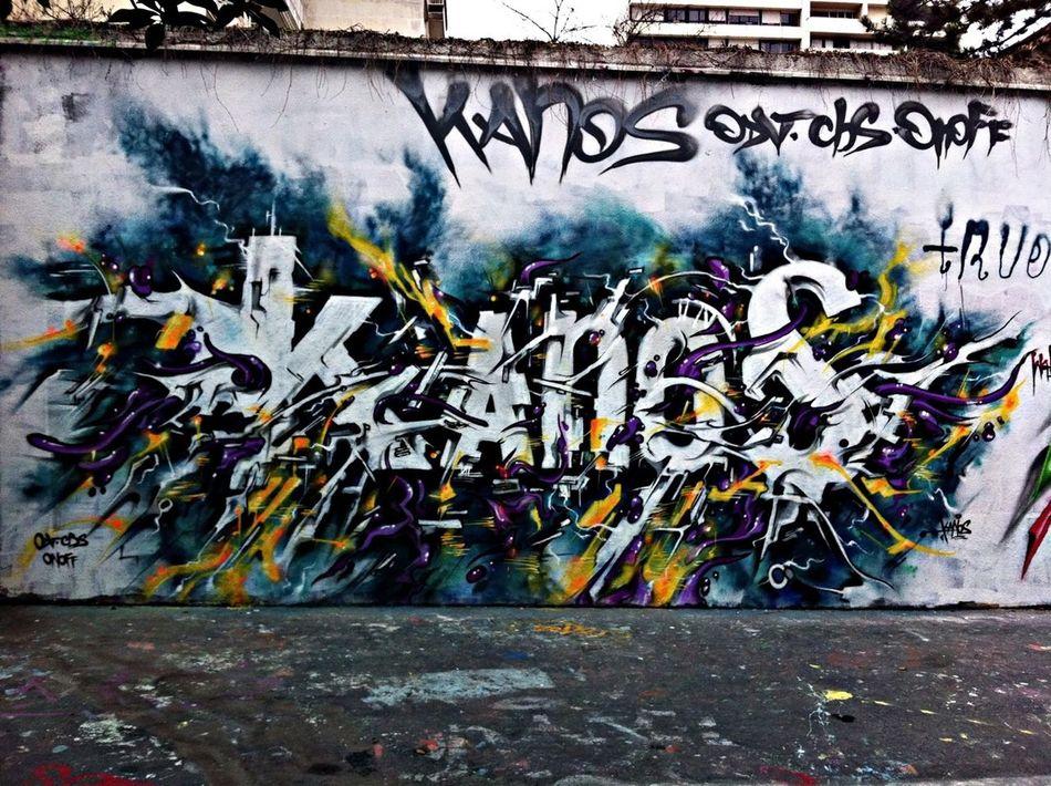 Paris Graffiti Streetart Kanos