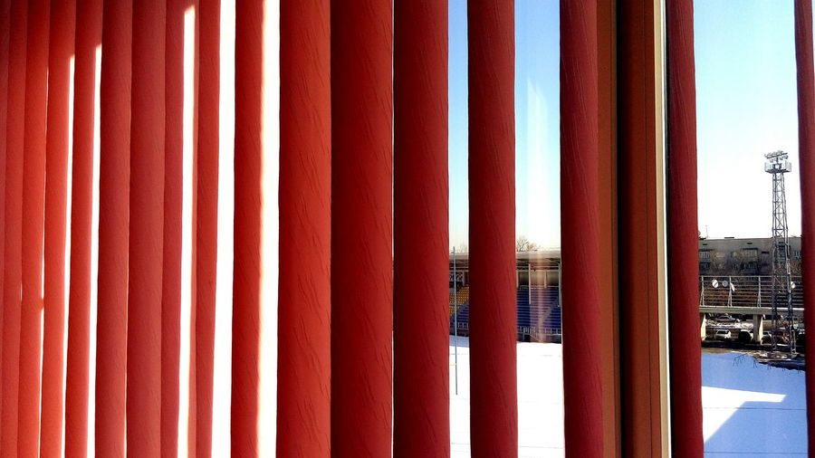 Red No People Sky Full Frame Architecture